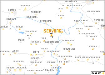 map of Sep\
