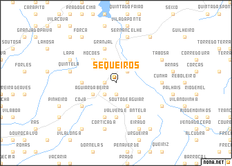 map of Sequeiros