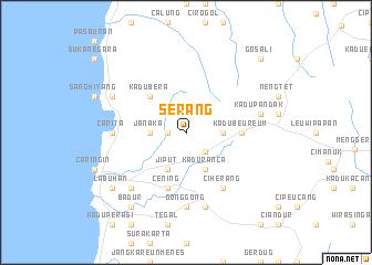 Serang Location Guide