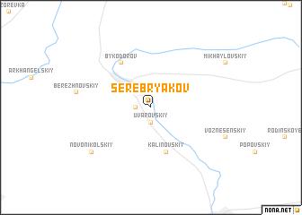 map of Serebryakov
