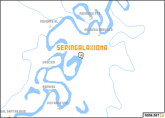 map of Seringal Axioma