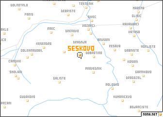 map of Šeškovo