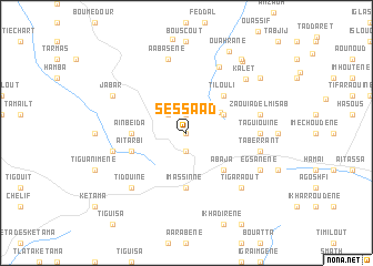 map of Sessaad