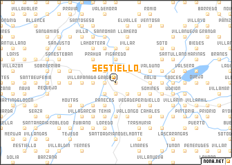 map of Sestiello