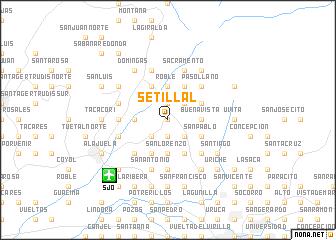 map of Setillal