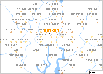 map of Setkôn