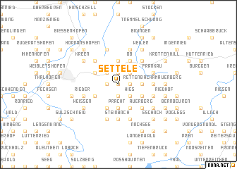 map of Settele