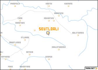 map of Seutloali