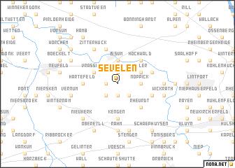 map of Sevelen