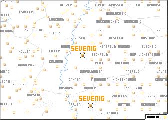 map of Sevenig