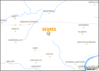 map of Seward