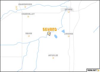 map of Seward