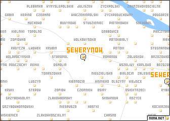 map of Sewerynów