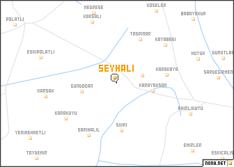 map of Şeyhali
