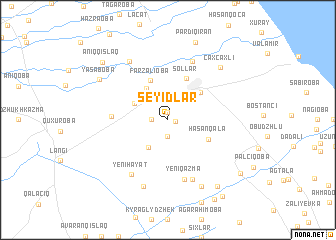 map of Seyidlǝr