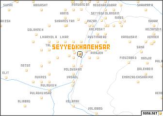 map of Seyyed Khāneh Sar