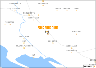 map of Shabarovo
