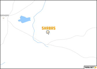 map of Shabas