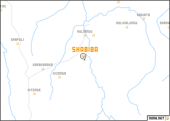 map of Shabiba