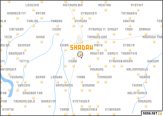 map of Shadaw
