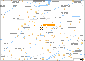 map of Shaikhpura Nau