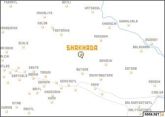 map of (( Shakhada ))