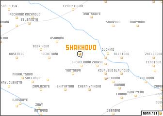 map of Shakhovo