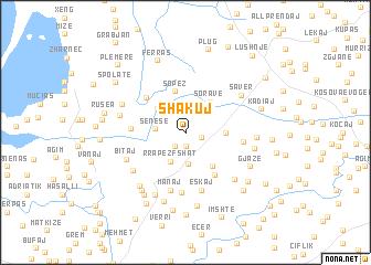 map of Shakuj