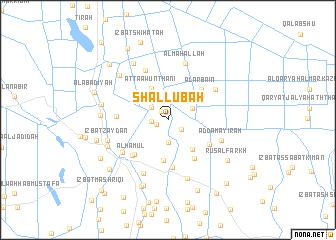 map of Shallūbah