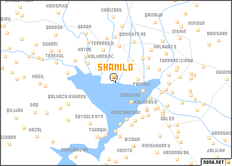 map of Shamilo
