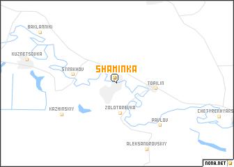 map of Shaminka