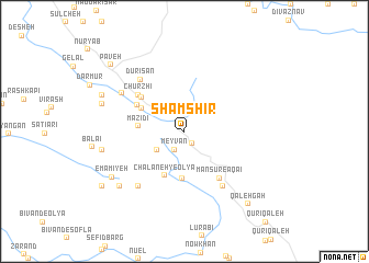 map of Shamshīr