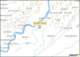 map of Shamske