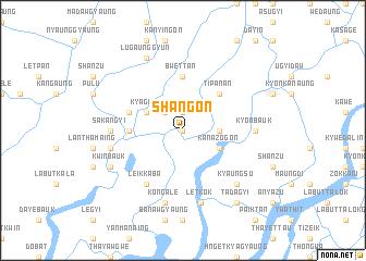 map of Shangon