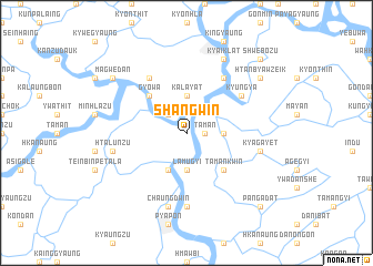 map of Shangwin