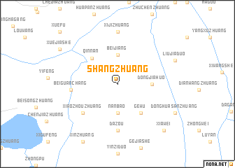 map of Shangzhuang