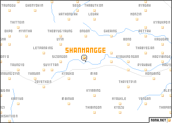 map of Shanmangge