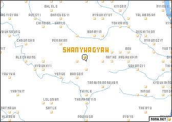 map of Shanywagyaw