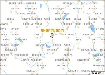 map of Shanywagyi