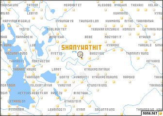 map of Shanywathit