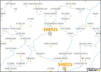 map of Shanzu