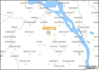 map of Shanzu