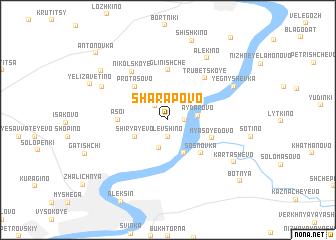 map of Sharapovo