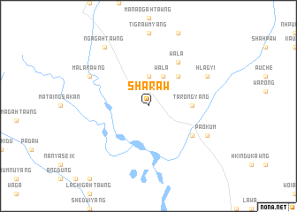 map of Sharaw