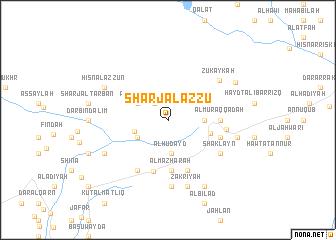 map of Sharj Āl az Zū'