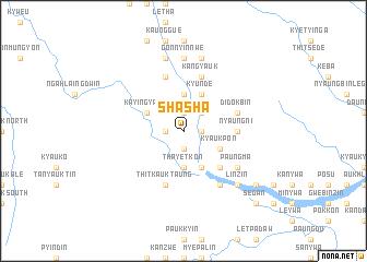 map of Shasha