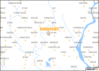 map of Shaukkon