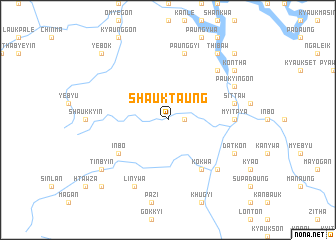 map of Shauktaung