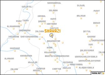 map of Shāwāzī