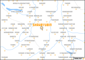 map of Shawbyubin